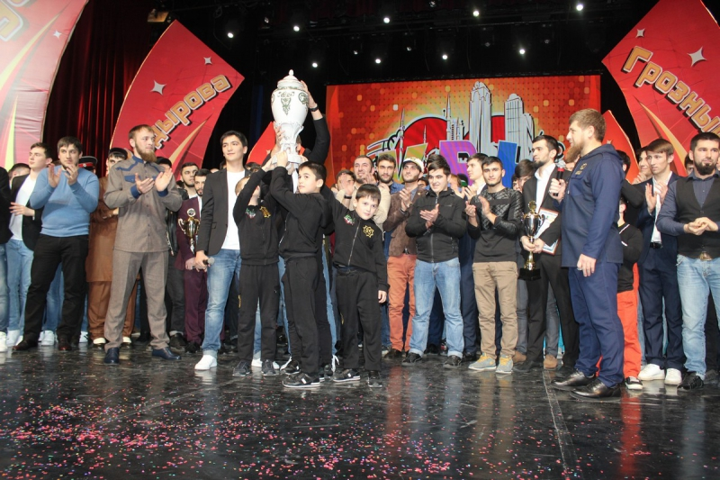 XIV фестиваль КВН на Кубок Ахмата-Хаджи Кадырова