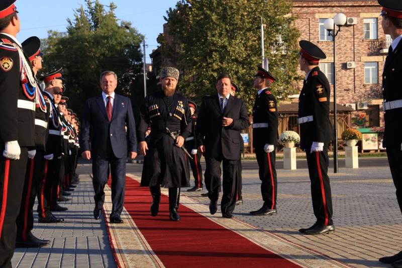 Инаугурация  Рамзана Кадырова