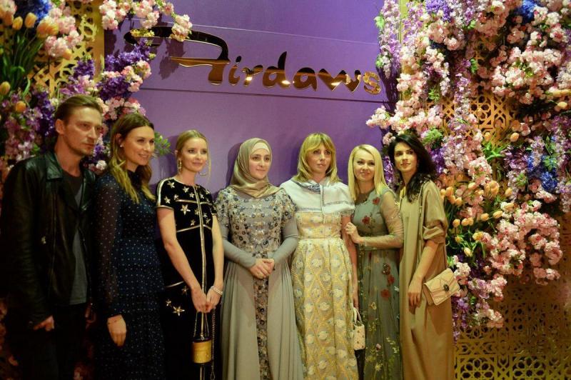 Презентация первой коллекции дизайнерской одежды Айшат Кадыровой