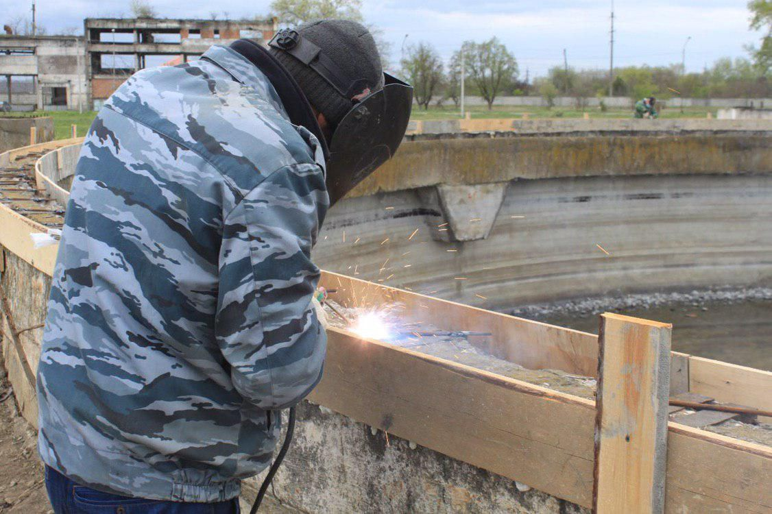 ЧЕЧНЯ. В Чечне строится комплекс биологических очистных сооружений