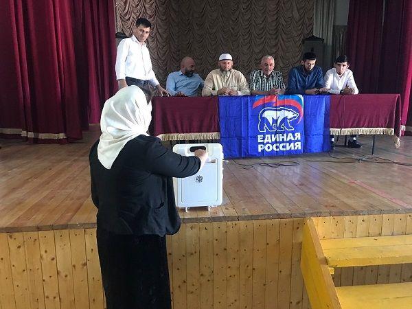 ЧЕЧНЯ. В Чеченской Республике завершилось предварительное голосование «Единой России»