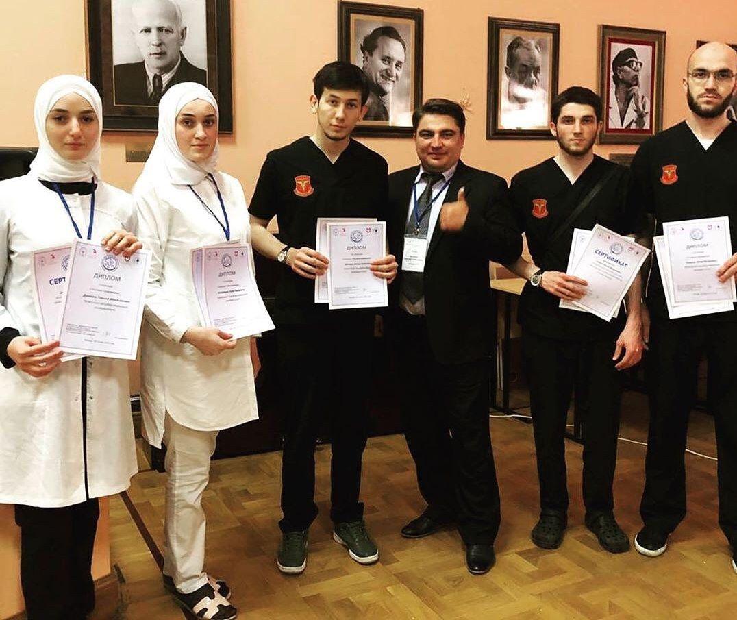 ЧЕЧНЯ. Студенты ЧГУ заняли пять призовых мест на VI Всероссийской олимпиаде по детской хирургии