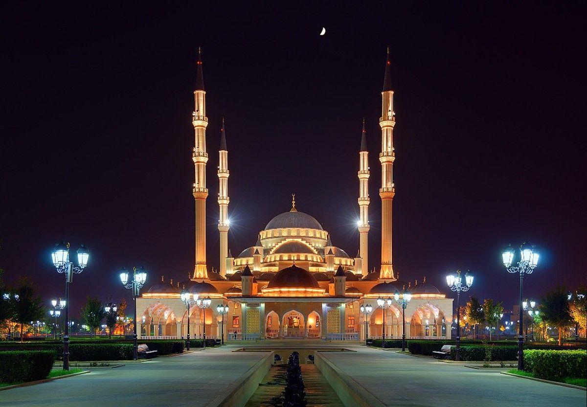 Картинки чеченской мечети