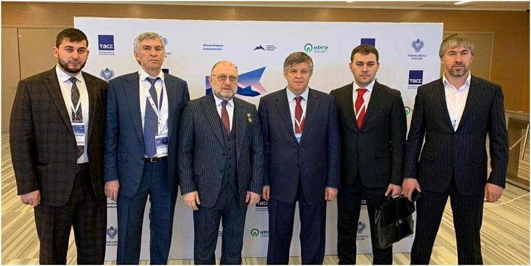 ЧЕЧНЯ. Делегация из Чечни приняла участие в IV бизнес-форуме «Инвестируй в Кавказ»