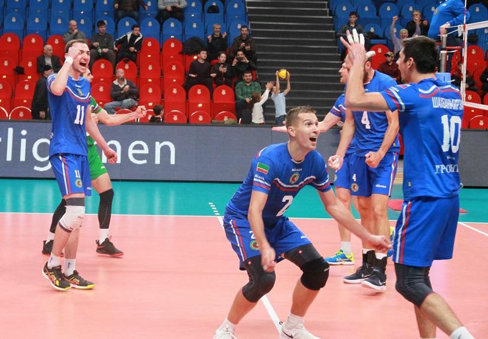 ЧЕЧНЯ. ВК «Грозный» выиграл вторую игру 3 тура Высшей Лиги «А»