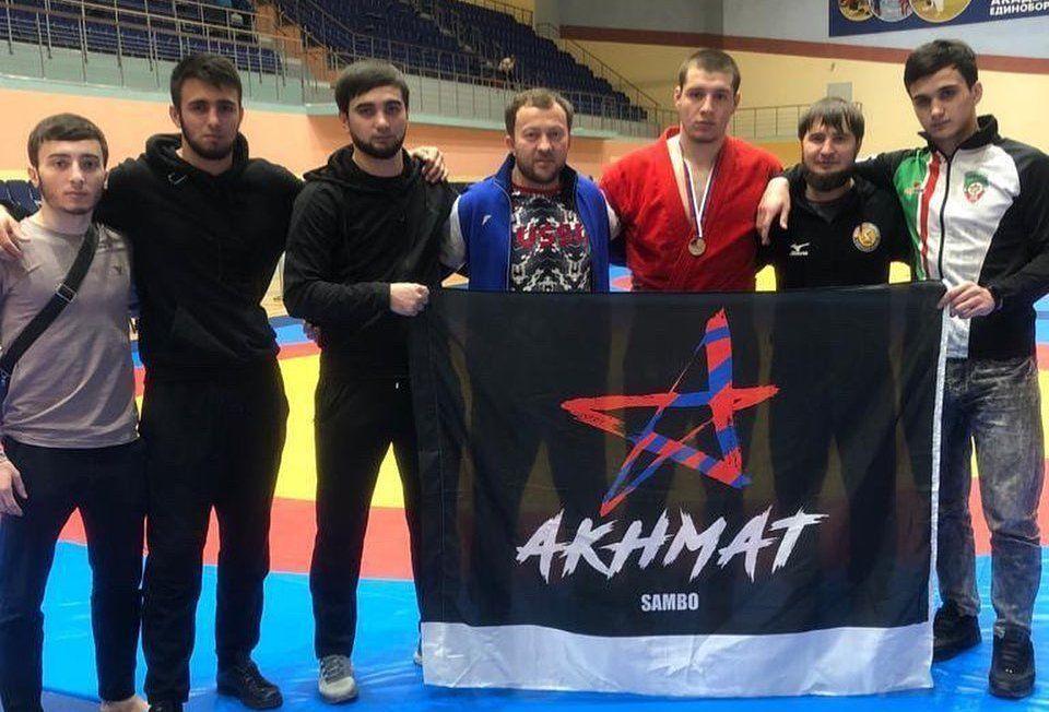 ЧЕЧНЯ. Чеченский самбист стал призером первенства России