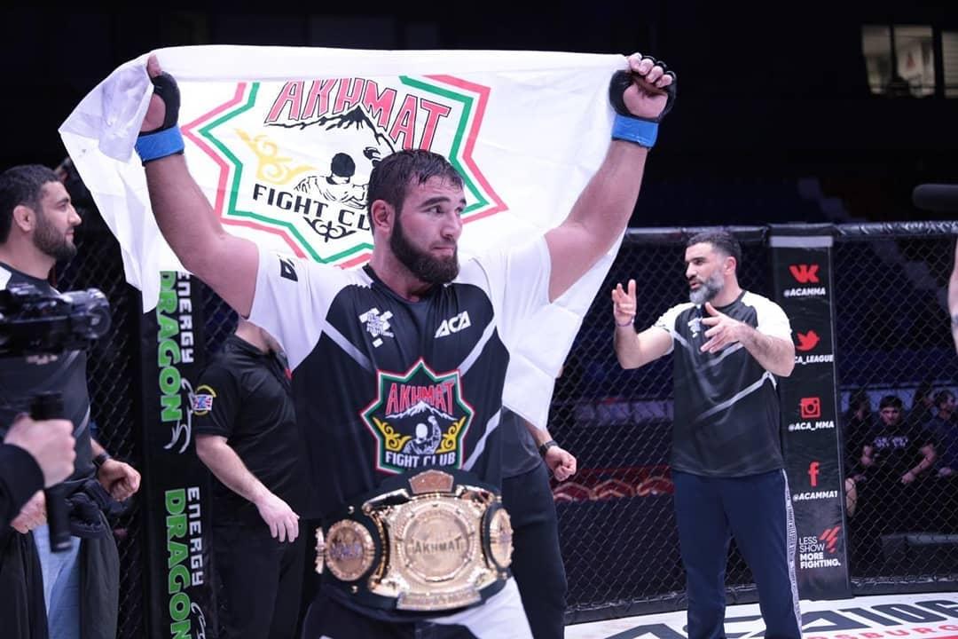 ЧЕЧНЯ. Мухамат Вахаев стал чемпионом ACA в тяжелом весе
