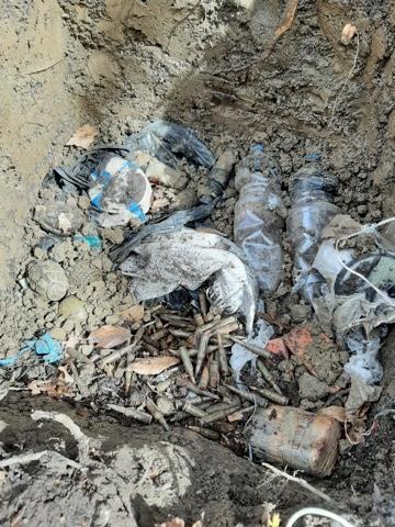 ЧЕЧНЯ. В Чеченской Республике обнаружен тайник с боеприпасами