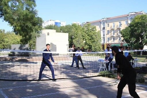 ЧЕЧНЯ. В Грозном прошел молодежный турнир по бадминтону