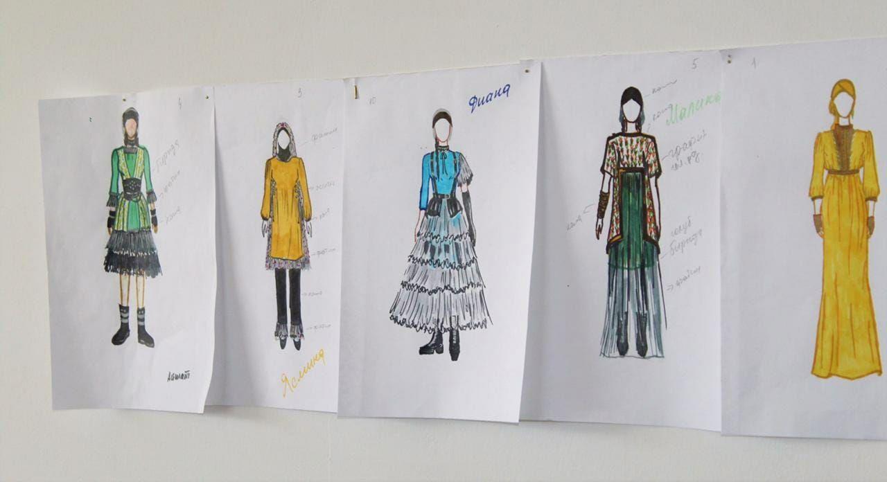 ЧЕЧНЯ.  Группа девушек из Грозного шьет специальную одежду для инвалидов (+видео)