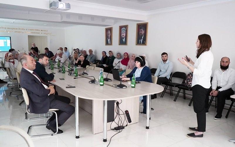 ЧЕЧНЯ. Для обмена опыта в Грозный приехали представители «Академии Талантов» Санкт-Петербурга