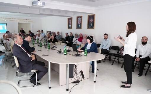 ЧЕЧНЯ. Представители «Академии Талантов» Санкт-Петербурга приехали для обмена опытом в Грозный