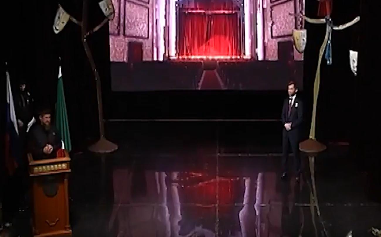 Рамзан Кадыров принял участие в торжественном вечере, посвященно