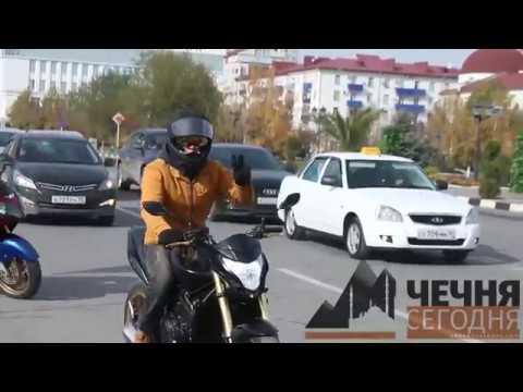 """""""Ночные волки"""" закрыли мотосезон в Грозном"""