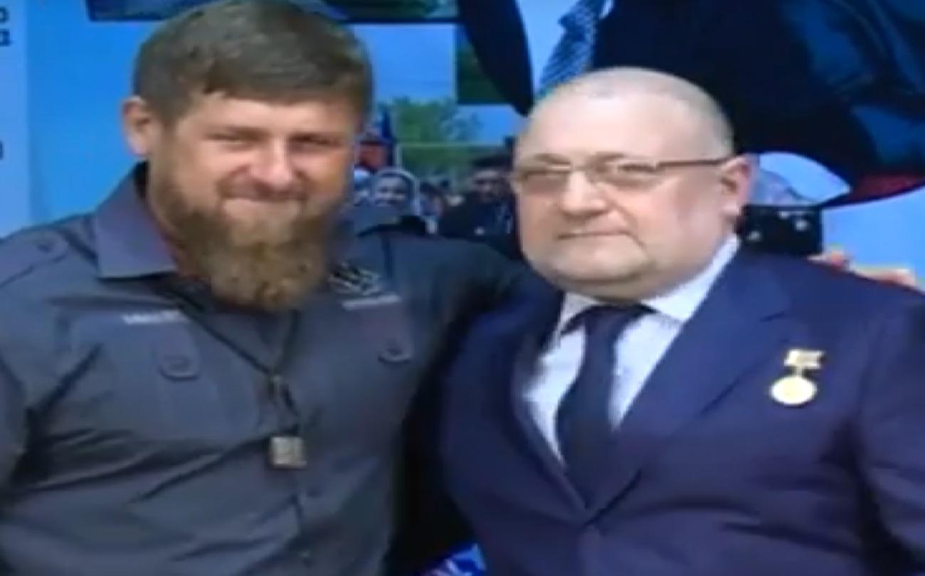 Джамбулат Умаров награджен орденом Кадырова
