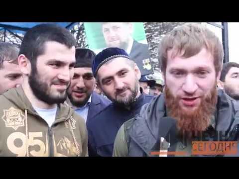 В Грозном встретили нового чемпиона мира IBF