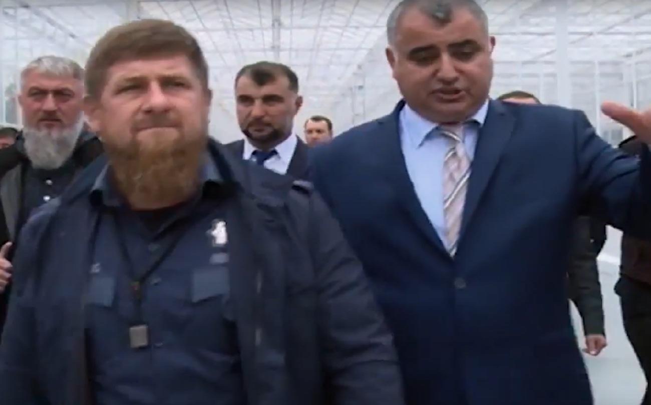 Рамзан Кадыров и Министр сельхоза РФ Александр Ткачев посетили т