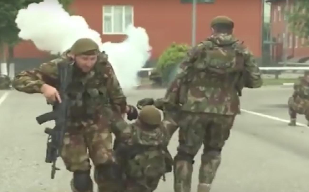 Глава Чеченской Республики поздравил Полк имени Кадырова с 13-ле