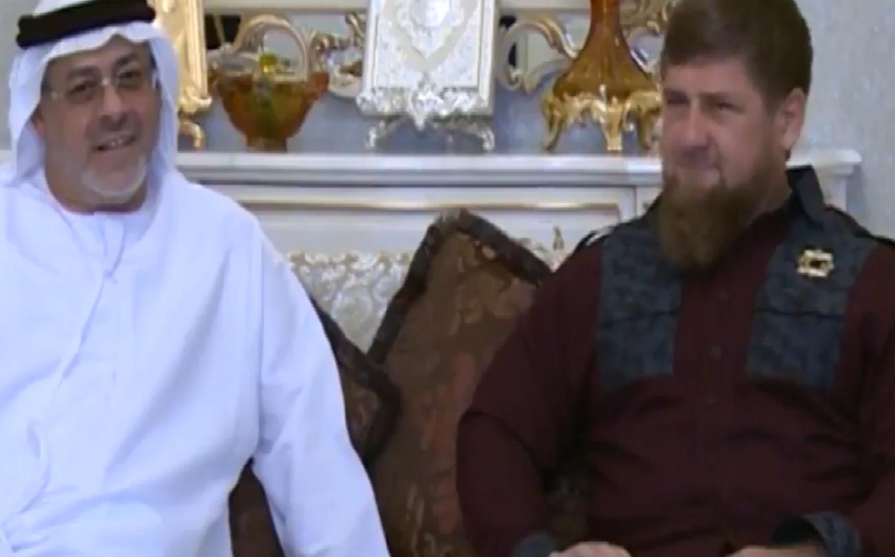 Рамзан Кадыров встретился с шейхом Хуссейном Аль Новайс