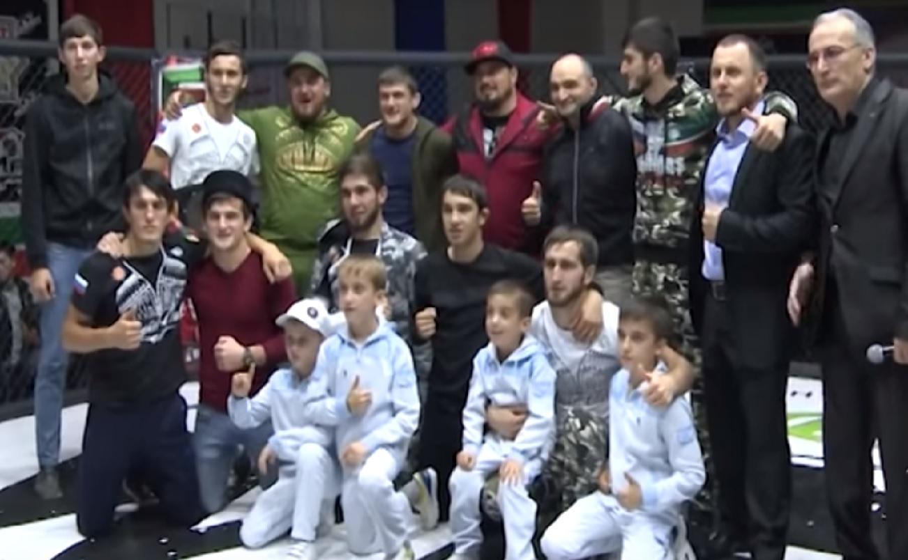 В Шали состоялся турнир ММА «Грозная битва 6»